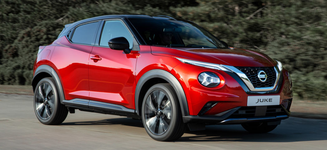 Next-generation Nissan Juke revealed with cleaner looks