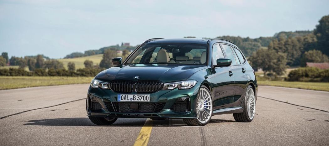 2020 BMW Alpina B3 Touring AWD really hauls