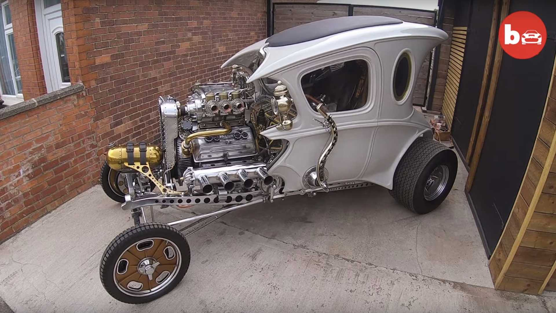 Steampunk Hot Rod Built From The Ground Up Is Bonkers