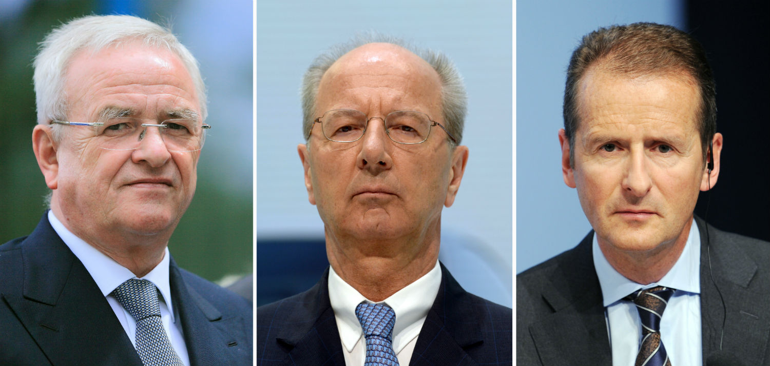 VW's top officers charged in Germany over diesel scandal