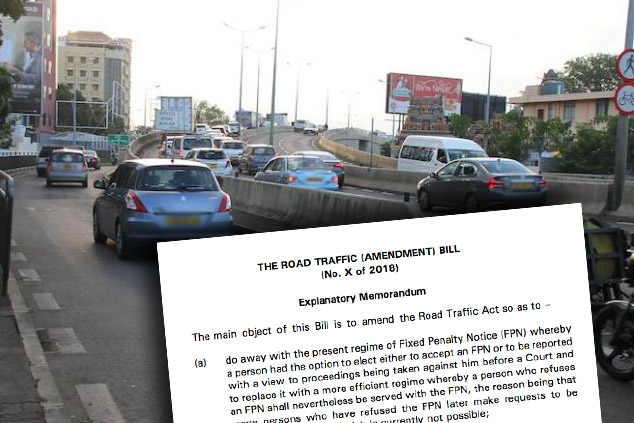 Parlement : le Road Traffic Amendment Bill (No 3) voté sans amendements