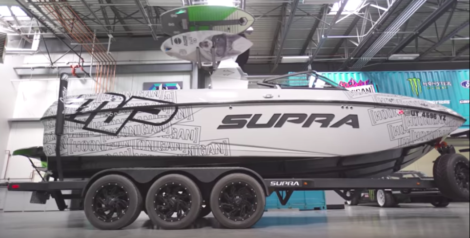 Video Of Ken Block's Ford Raptor-Powered Supra Is Not What You Think