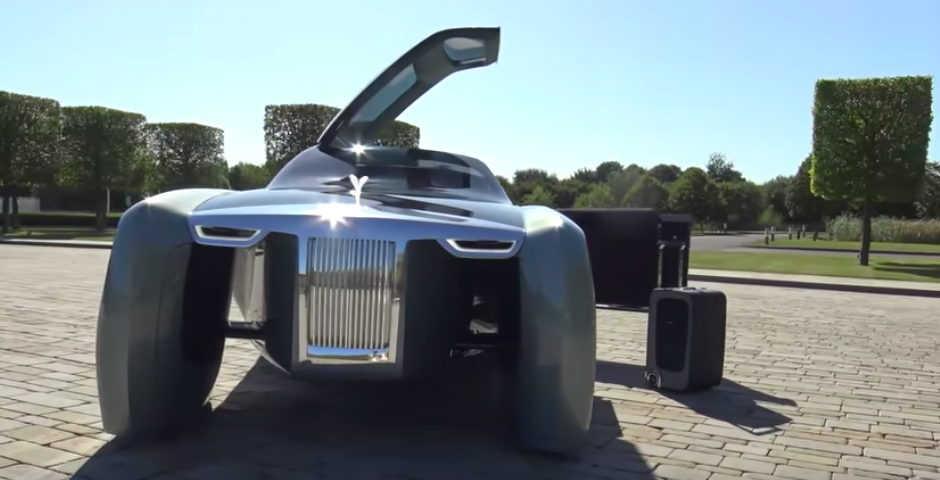 Rolls-Royce 103EX Looks Otherworldly In Walkaround Video