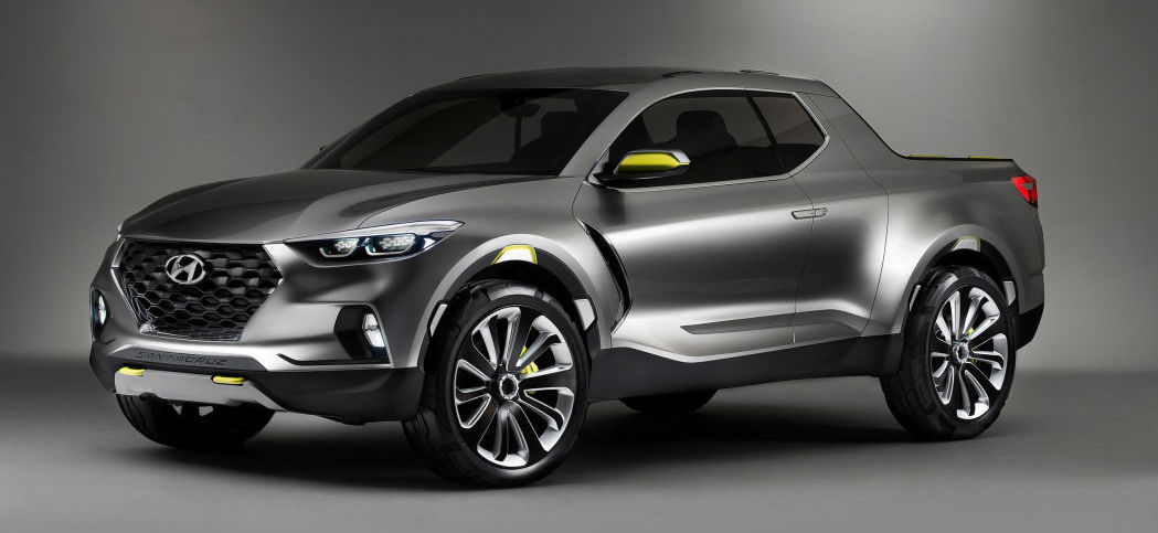 Hyundai planning two pickup truck architectures?