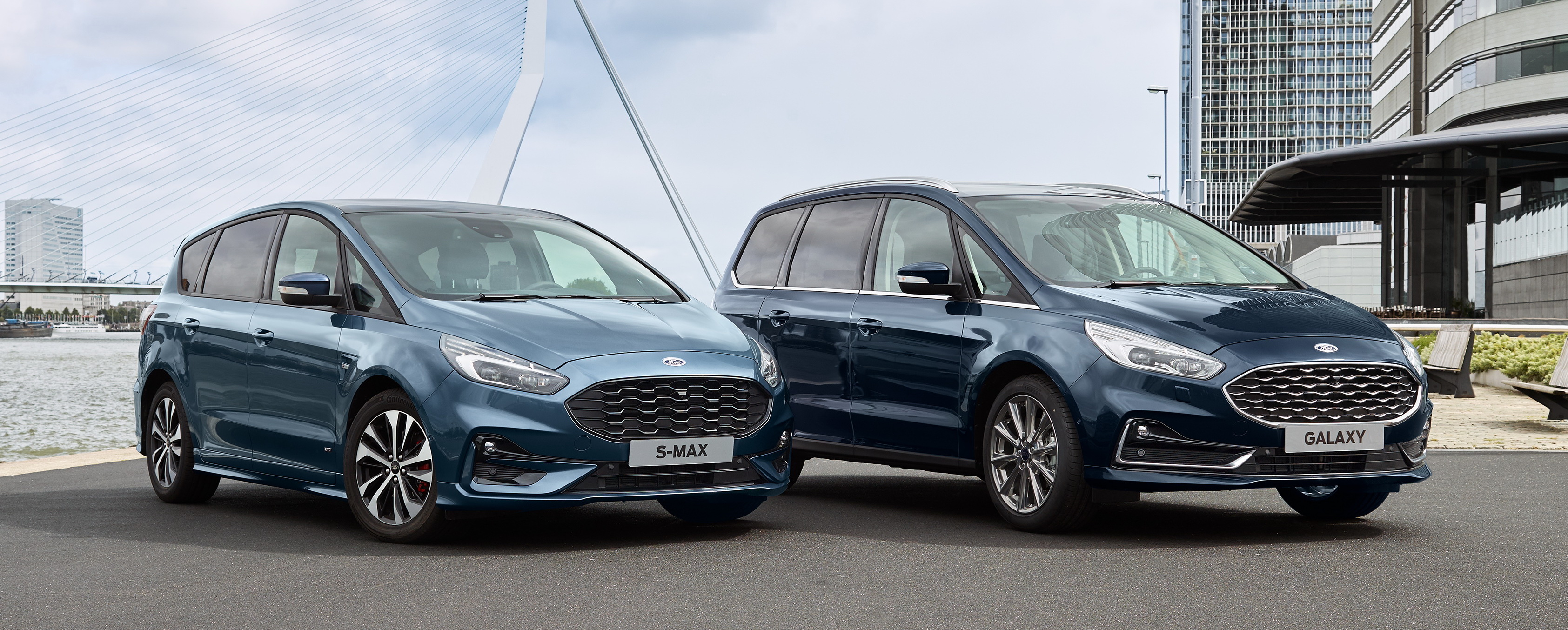 Ford Europe Still Believes In Minivans, Updates S-Max And Galaxy