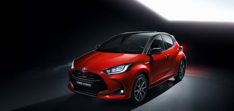 2020 Toyota Yaris global car is an all-new hybrid