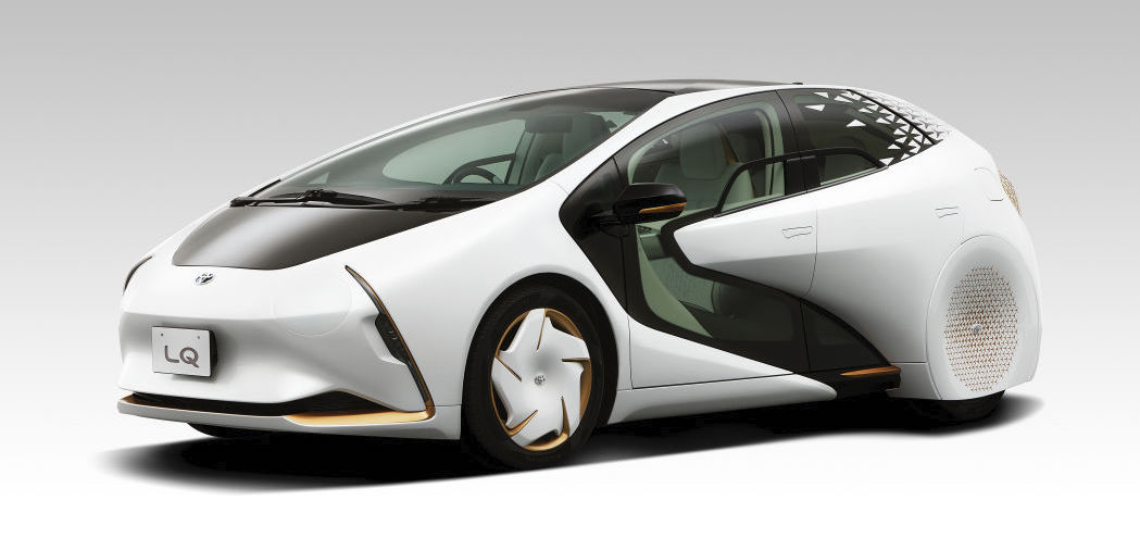 Toyota LQ concept coming to Tokyo with your new evolved AI helper Yui
