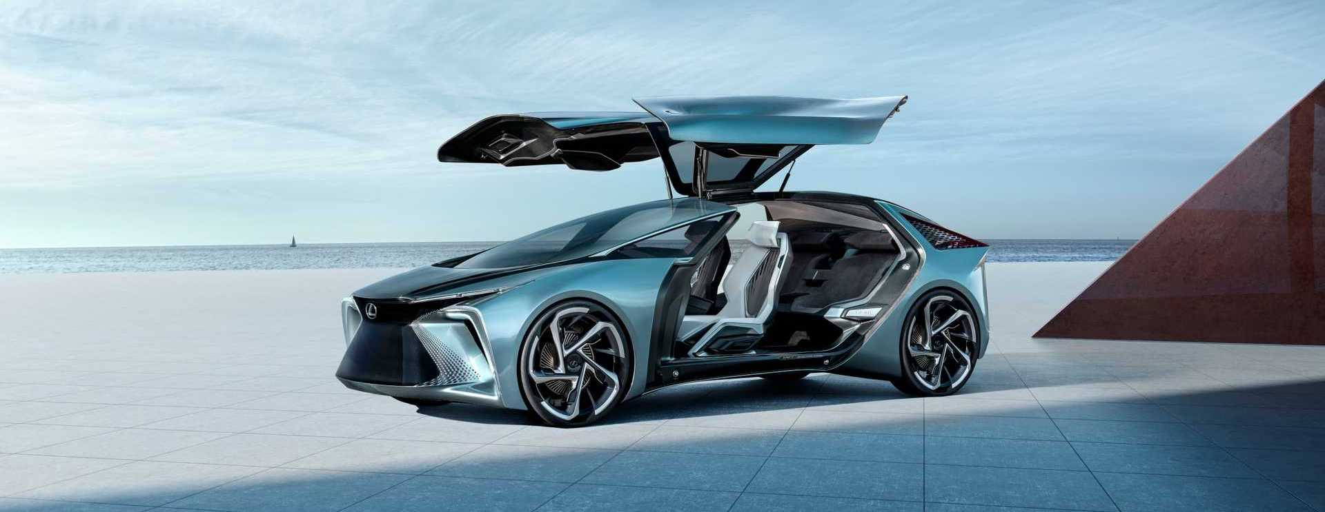 Lexus LF-30 Unveiled With 536 HP And Massive Gullwing Doors