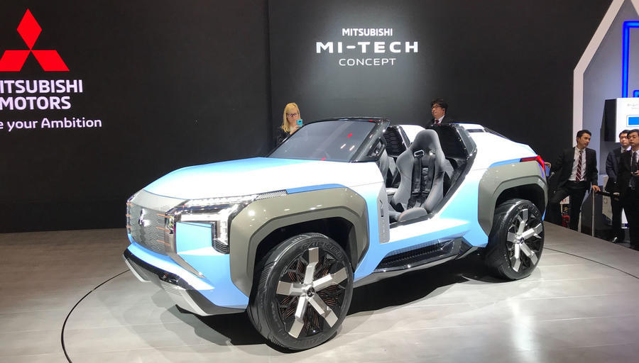Mitsubishi Mi-Tech turbine-PHEV buggy blows the doors off our dreams