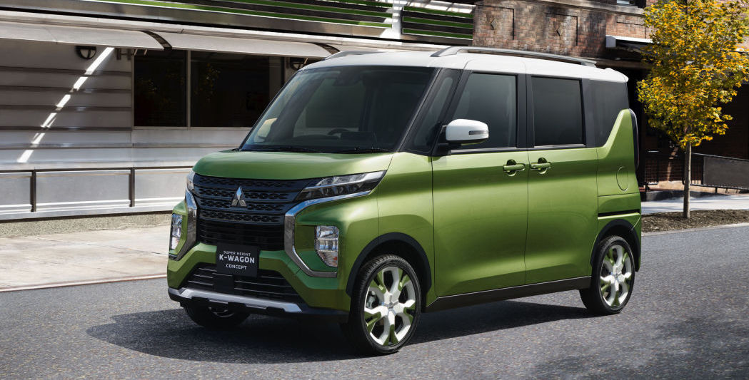 Mitsubishi Super Height K-Wagon previews the kei car of the 2020s