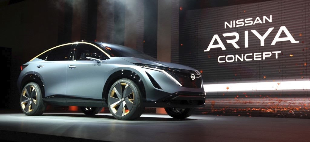 Nissan Ariya crossover concept is a bolder new take on Nissan EVs