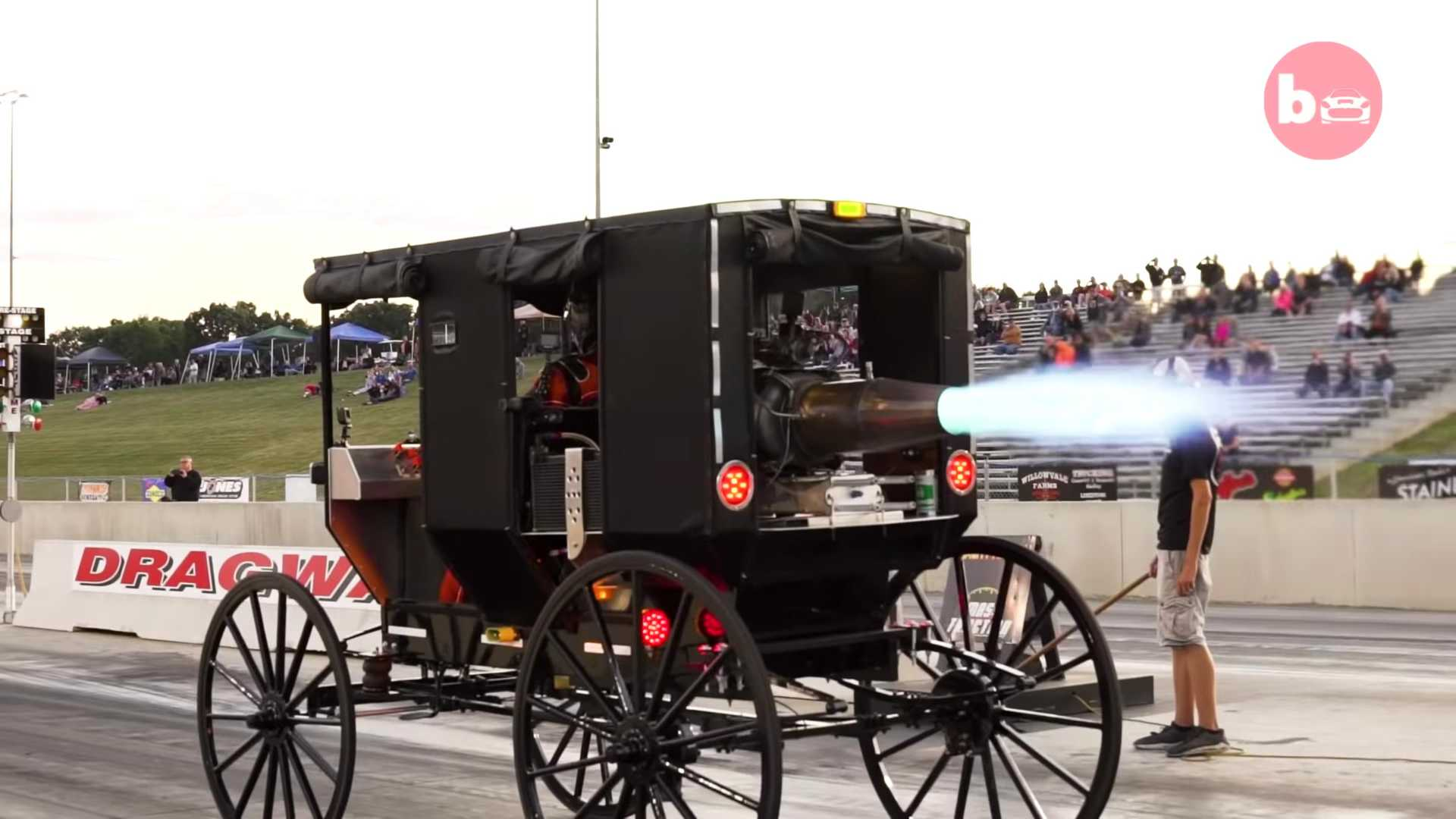 Jet-Powered Amish Buggy Looks Ludicrously Unsafe