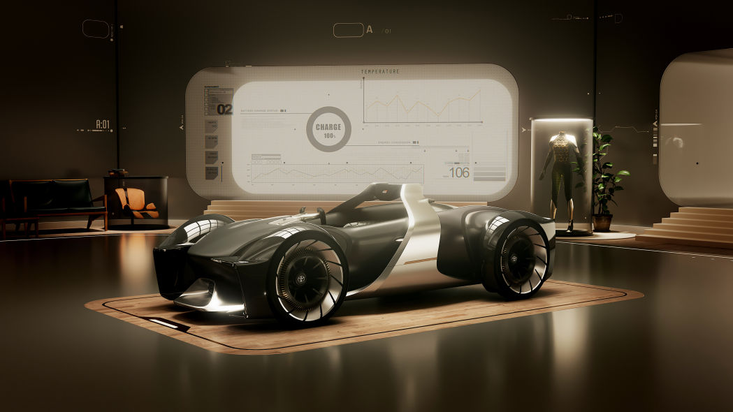 Toyota e-Racer wants us to know autonomy can be thrilling, too