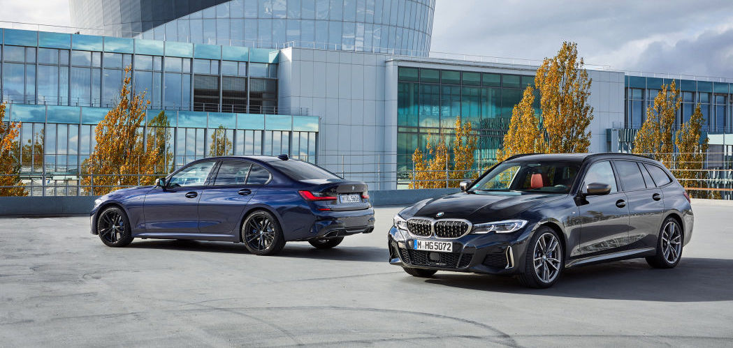 2020 BMW M340i xDrive Touring joins its sedan sibling. But not here