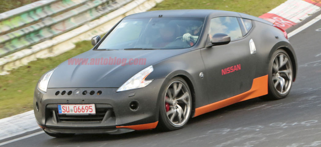 This might be a next-gen Nissan Z car mule