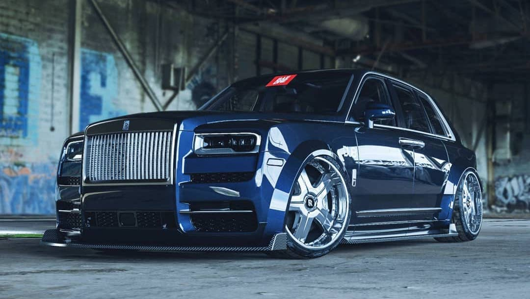 "Rolls-Royce Cullinan ""DUB Edition"" Is Slammed on Carbon Aero"