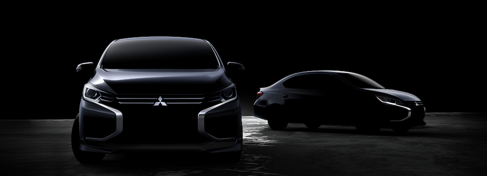 2020 Mitsubishi Mirage Teaser Reveals Mid-Cycle Redesign
