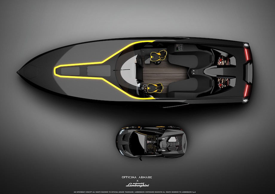A Lamborghini Speedboat to Go With Your Lamborghini Roadster