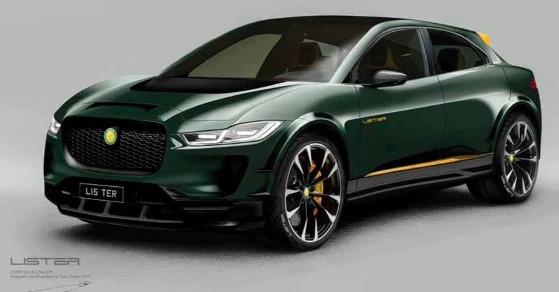 Jaguar I-Pace By Lister Is One Hot Electric SUV