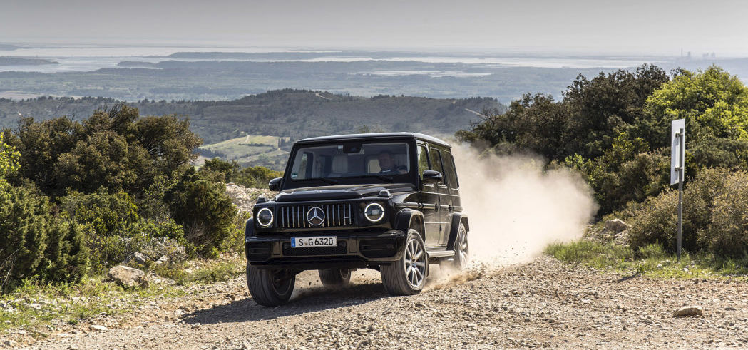 Mercedes-Benz announces an electric G-Class is on its way