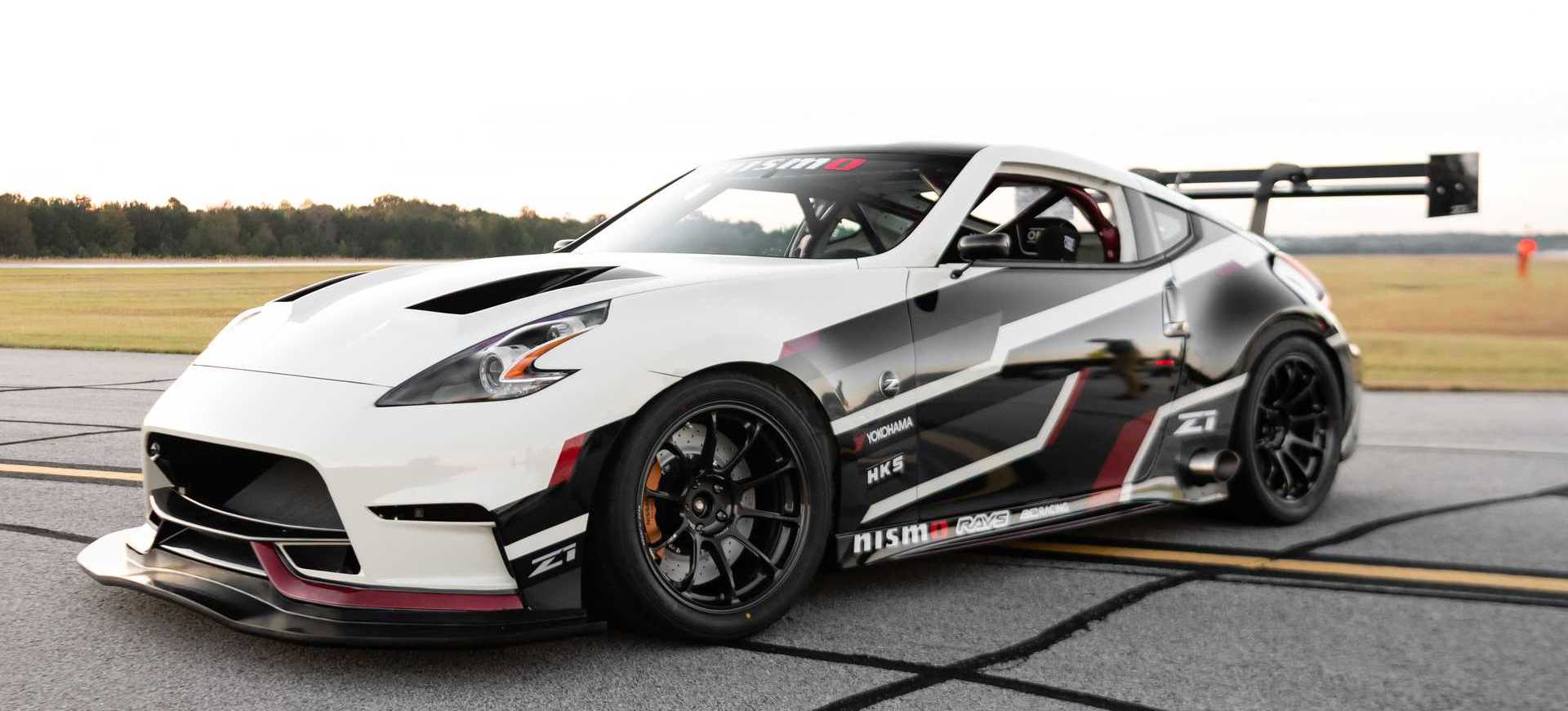 Race-Prepped Nissan 370Z Roars Into SEMA With 750-Plus HP