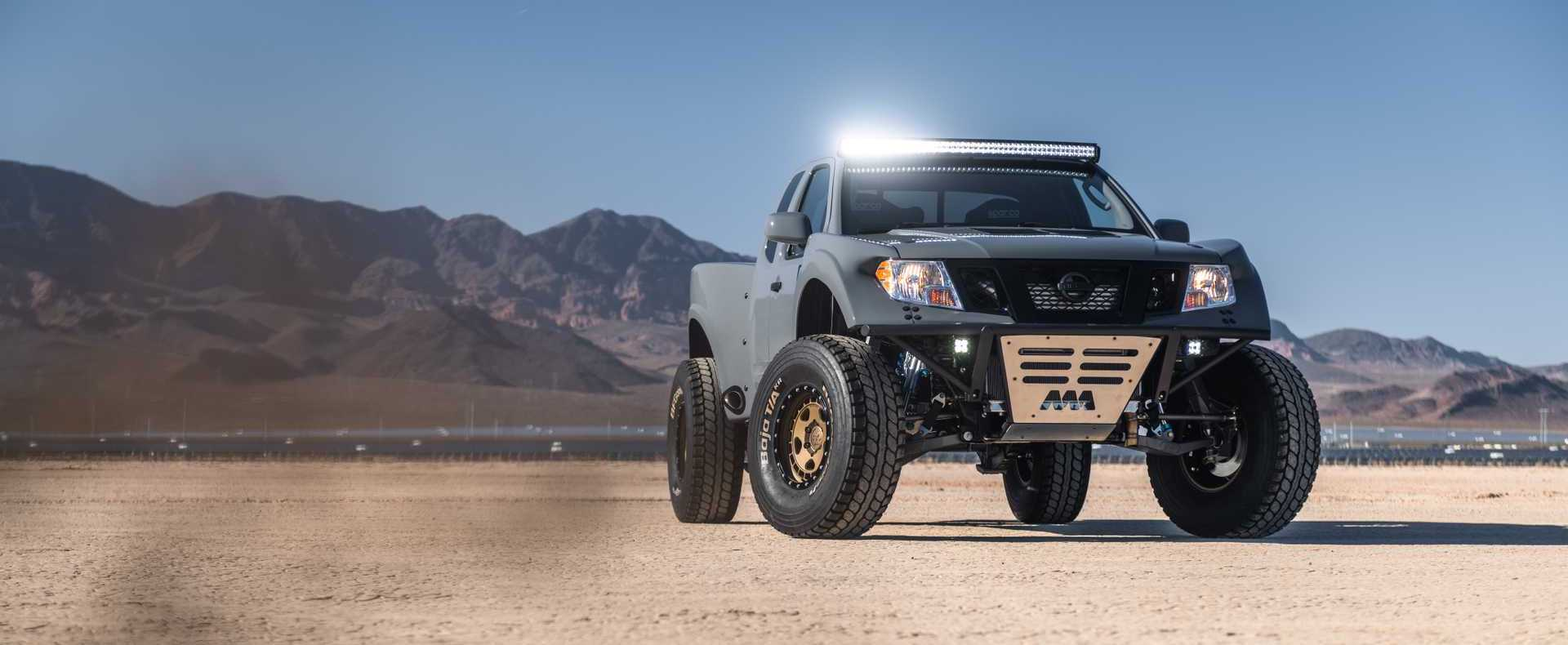 Nissan Frontier Desert Runner Debuts To Conquer Any Dune