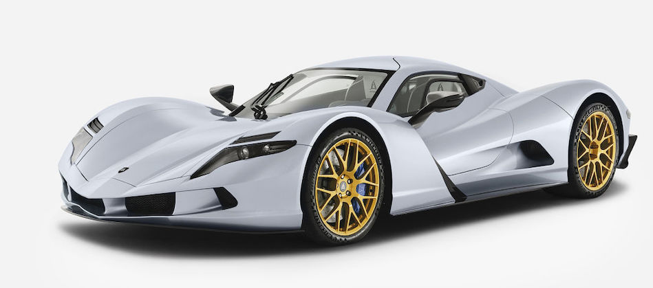 The Aspark Owl electric hypercar has 1,985 hp and a $3.3 million price tag