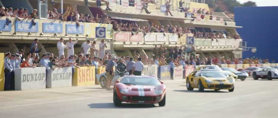 'Ford V Ferrari' Clips Reveal The Movie Magic Behind Its Stunts