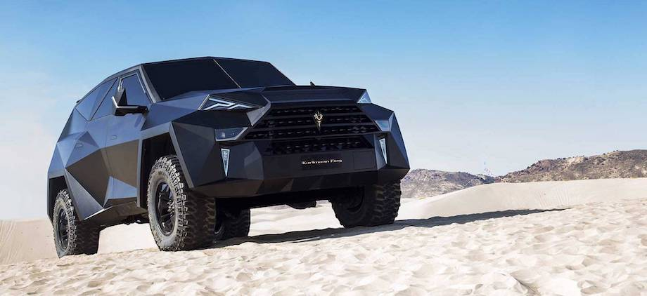 World's Most Expensive SUV Looks Like Nothing Else