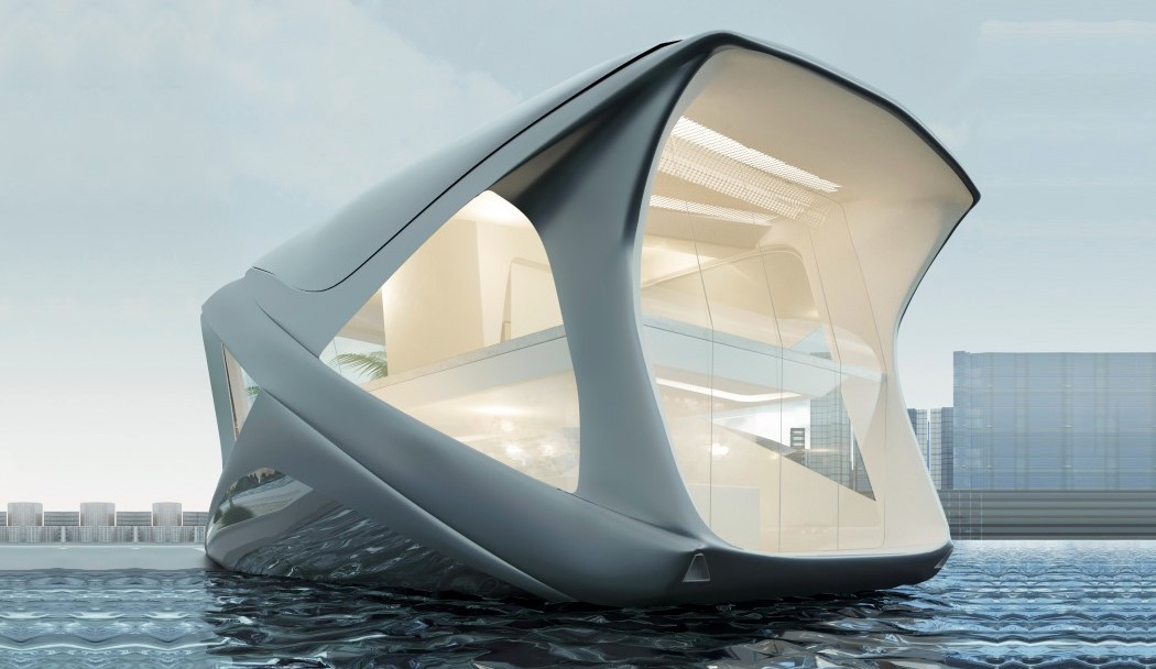 This Home Floats on Water Like a Yacht