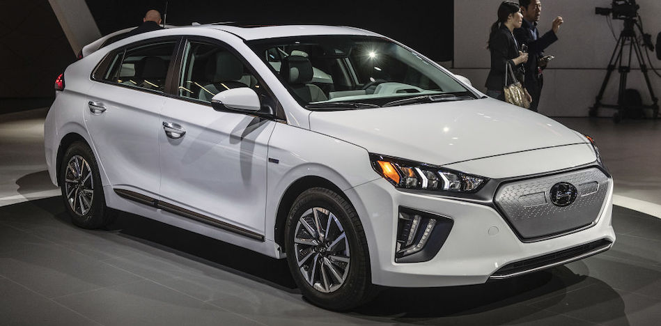 2020 Hyundai Ioniq debuts in L.A. with freshened styling, tech, more electric range for EV