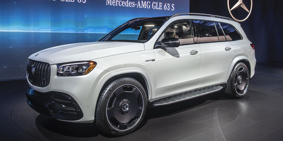 2021 Mercedes-AMG GLS 63 offers 89 horsepower per seat