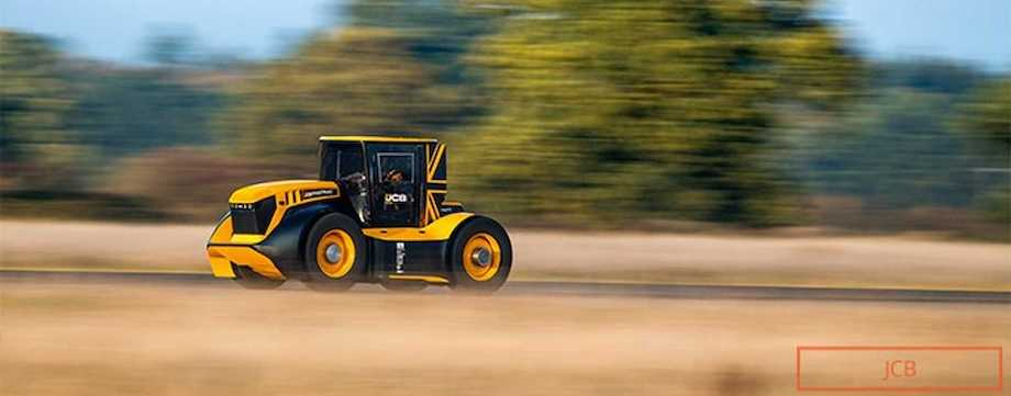 Watch Fastest Tractor In The World Hit 217 km/h