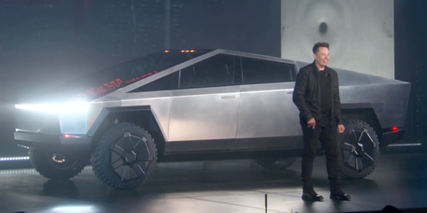 Tesla Cybertruck debuts, and we can't believe our eyes