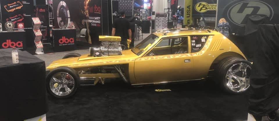 AMC Gremlin Dragster Has Hot Rod Hints, Looks Wild