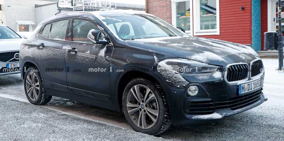 BMW iX2 Electric Crossover Spied For The First Time