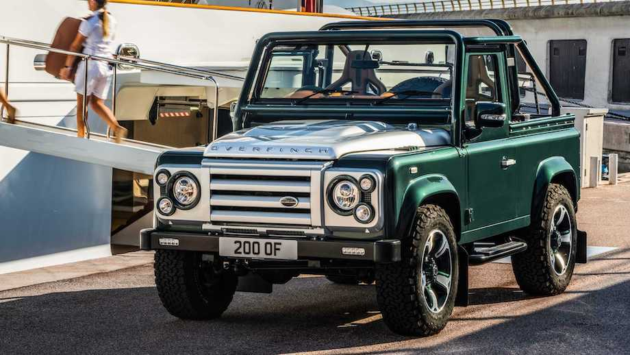 Land Rover Defender By Overfinch Is A Green Gem With Massive Engine