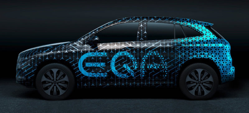 2021 Mercedes-Benz EQA production crossover teased