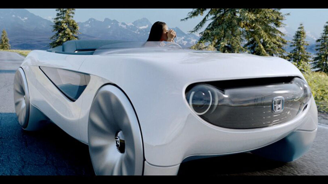 Honda Augmented Driving Concept reinvents the steering wheel