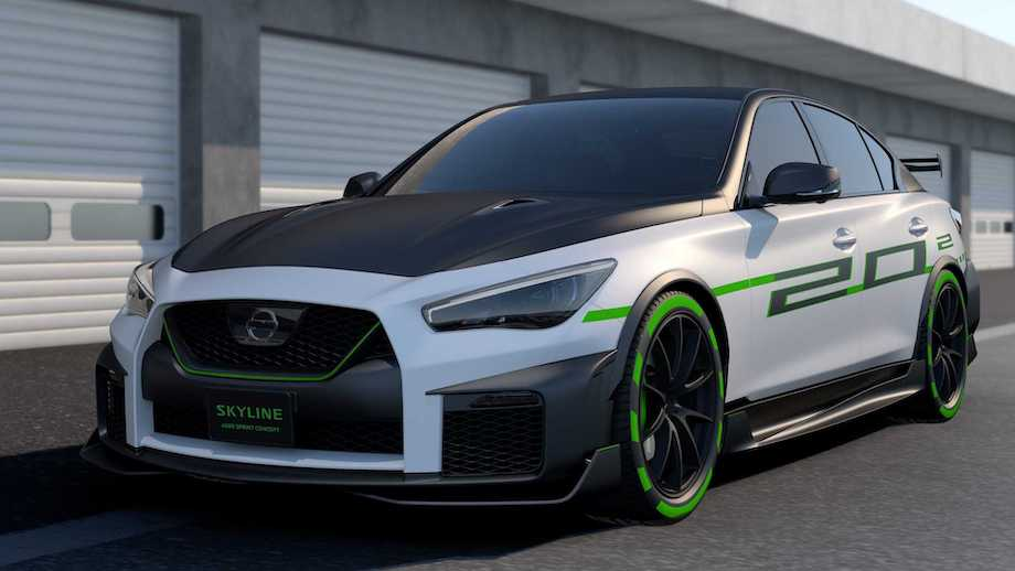 Nissan Skyline Gets Two New Looks For Tokyo: One Sporty, One Stylish