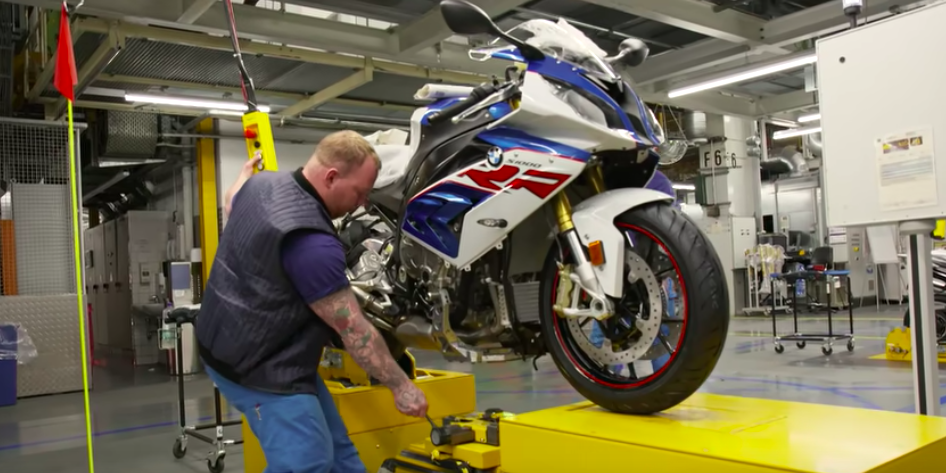 This Is How A BMW S 1000 RR Is Made