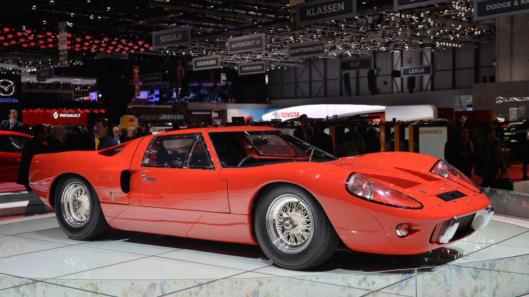 1969 Ford GT40 Mk III Found Roaming the Halls in Geneva