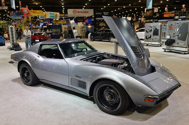1971 Chevy Corvette Jimmie Johnson Concept is a Modern Classic