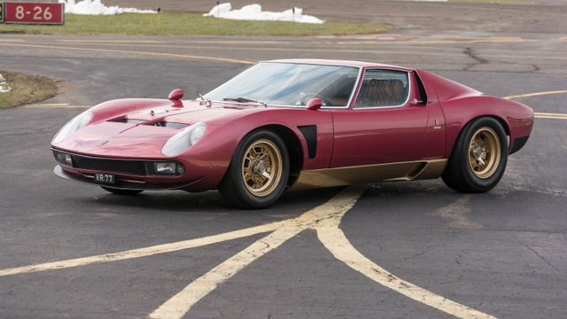 Super-Rare Lamborghini Miura SV Jota Promises to Break Records