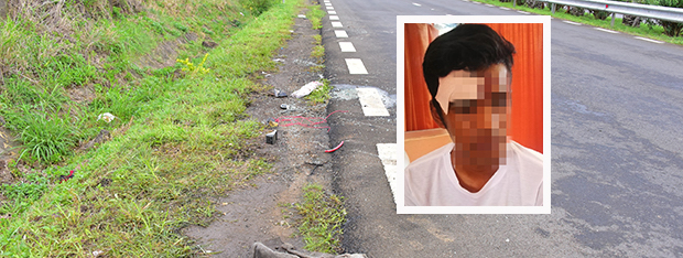 Accident à The Vale: Nilesh Bundhun ne se souvient pas
