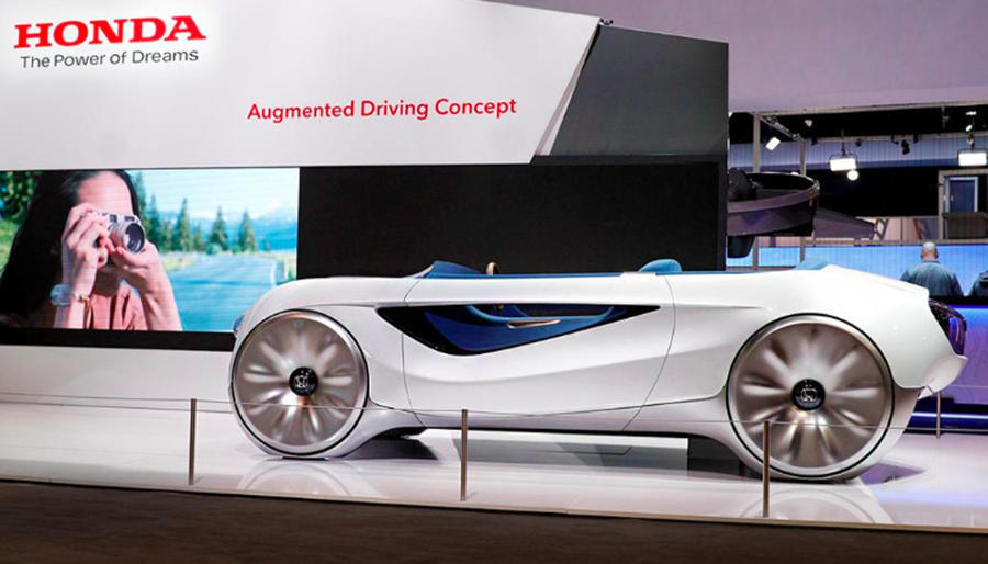 New Honda concept aims to ease transition to self-driving cars
