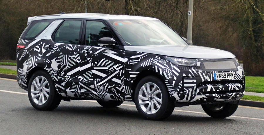 Land Rover Discovery hybrid snapped in new spy shots