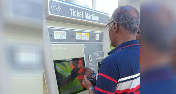 Tram: les Ticket Machines à court de monnaie