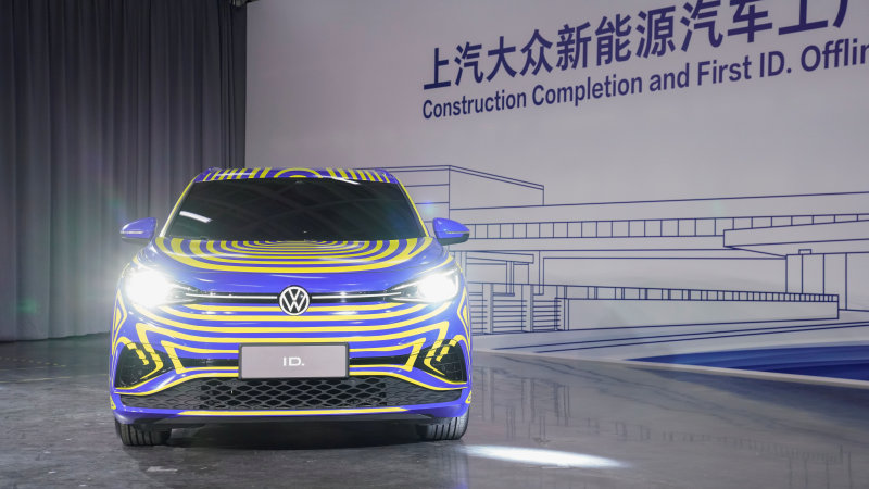 Volkswagen to buy 20% of Chinese battery maker Guoxuan amid electric push