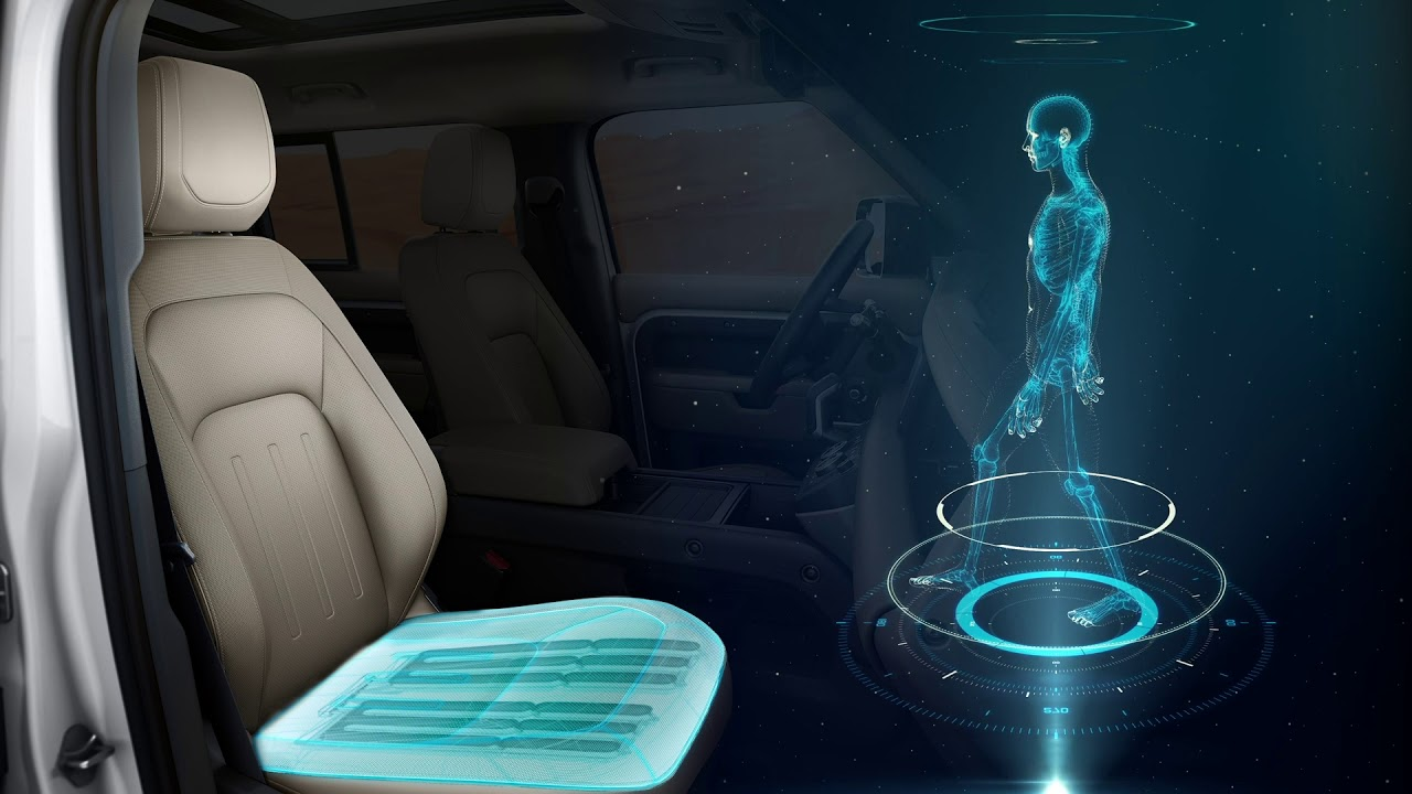Jaguar Land Rover proposes seats that scientifically massage your butt, for your health